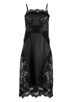Dolce & Gabbana satin slip dress - Black