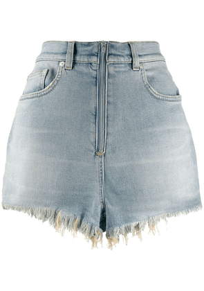 Givenchy denim mini shorts - Blue