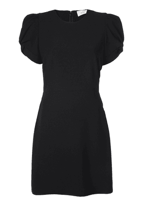 A.L.C. short-sleeve fitted dress - Black