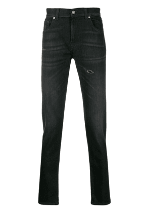 7 For All Mankind tapered jeans - Black