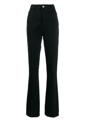 Bottega Veneta high waisted flared jeans - Black
