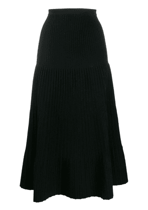 Dsquared2 pleated midi skirt - Black