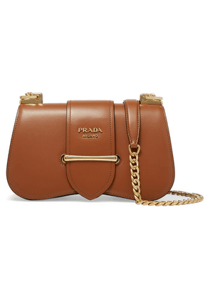 Prada - Sidonie Medium Leather Shoulder Bag - Brown