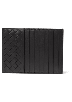 Bottega Veneta - Intrecciato Leather Cardholder - Black