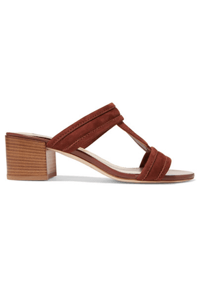 Tod's - Suede Sandals - Tan