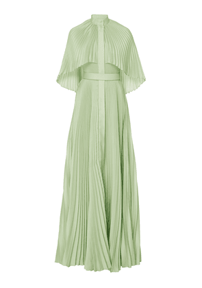 Brandon Maxwell SpecialOrder-Pleated Capelet Gown-AF