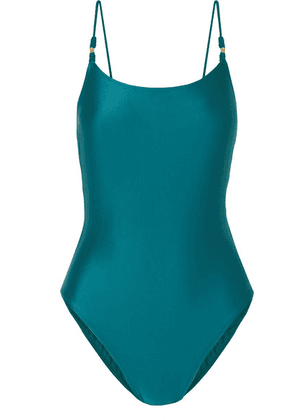 ViX - Rosie Rope-trimmed Swimsuit - Teal