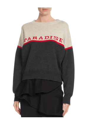 Kepson Colorblock Graphic Sweater