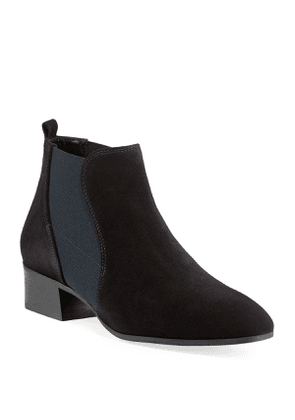 Falco Suede Gored Booties