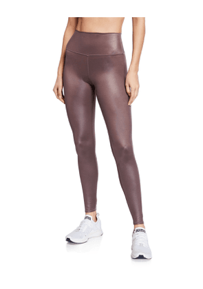 High-Waist Shine Airbrush Active Leggings
