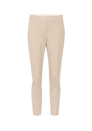 Pegno stretch jersey straight pants