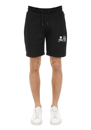 Logo Cotton Jersey Shorts