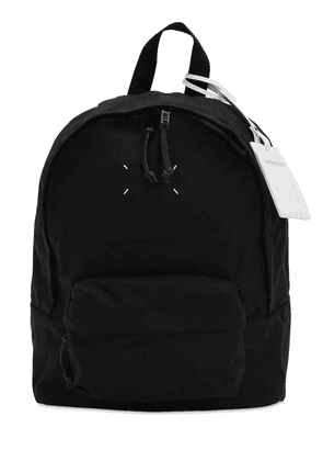 Logo Tag Tech Canvas Backpack