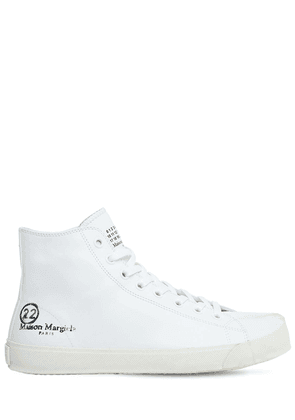 Vandal Tabi Leather High Top Sneakers