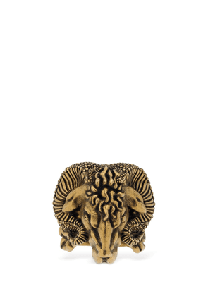 Aries Motif Statement Ring