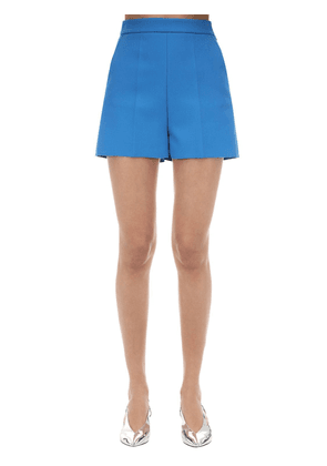 Tailored Double Crepe Shorts