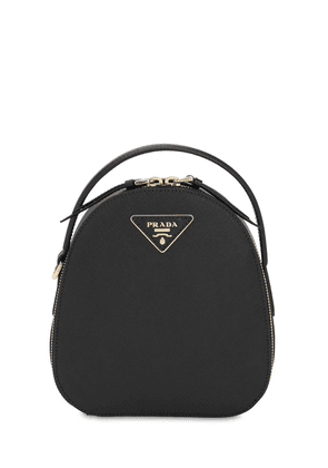 Small Saffiano Leather Backpack