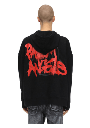 Palm Angels Cotton Sweatshirt Hoodie