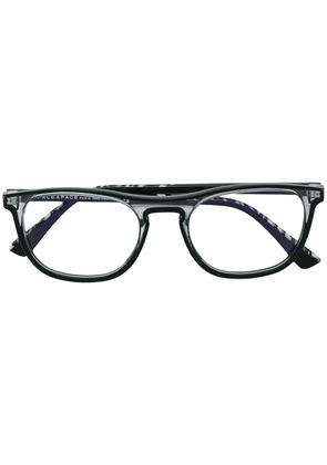 Face À Face transparent square shaped glasses - Black