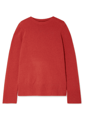 The Row - Sibel Oversized Wool And Cashmere-blend Sweater - Red
