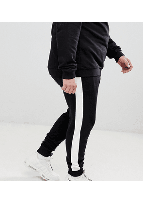 ASOS DESIGN Plus skinny joggers with side stripe