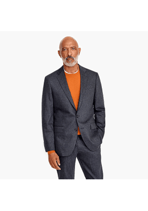 Ludlow Slim-fit suit jacket in Italian stretch wool flannel