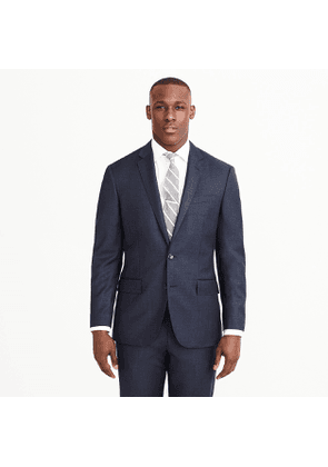 Crosby suit jacket with double vent in Italian worsted wool