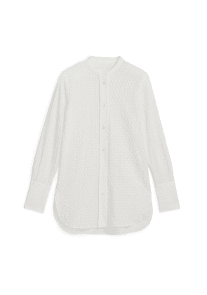 Embroidered Shirt - White