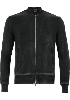 Avant Toi fitted long sleeved sweater - Black