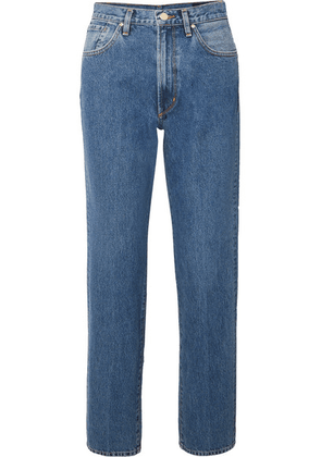 Goldsign - The Classic Fit High-rise Straight-leg Jeans - Mid denim