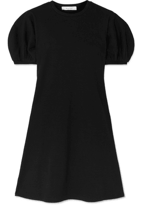 Beaufille - Leda Ribbed Cotton-blend Jersey Mini Dress - Black