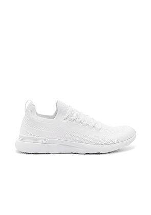APL: Athletic Propulsion Labs Techloom Breeze Sneaker in White. Size 10,5,5.5,9,9.5.