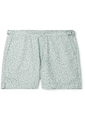 Orlebar Brown - Setter Mid-length Printed Swim Shorts - Green