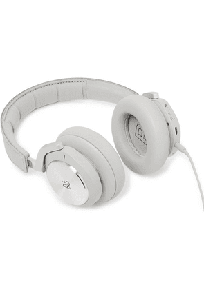 Bang & Olufsen - + Rimowa Limited Edition Beoplay H9i Leather Wireless Headphones - Silver
