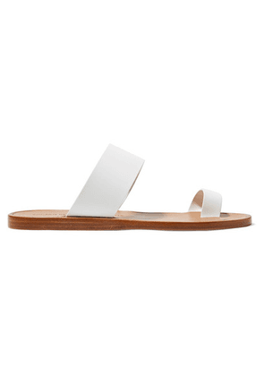 Common Projects - Minimalist Leather Sandals - White