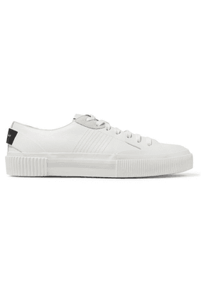Givenchy - Tennis Light Suede-trimmed Leather And Rubber Sneakers - White