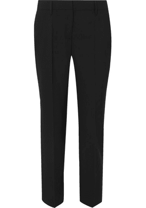 Prada - Wool Straight-leg Pants - Black
