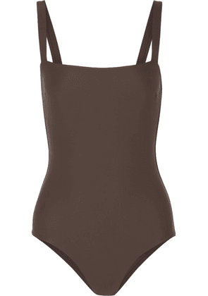 Matteau - The Square Swimsuit - Dark brown