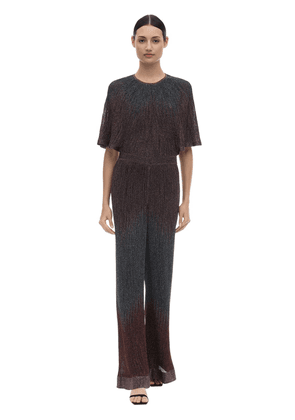 Degradè Lurex Viscose Knit Jumpsuit