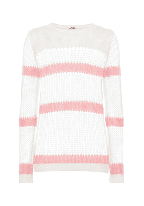 Mohair and wool-blend sweater