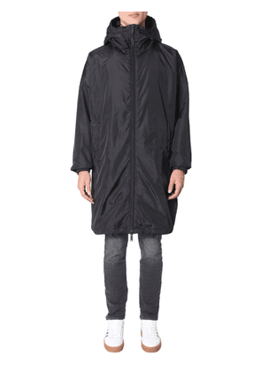 dsquared parka with zip and hood