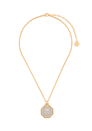 Versace Medusa plated necklace - Metallic