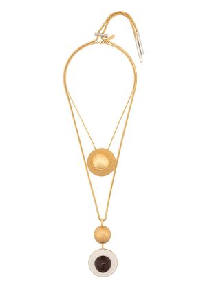 Marni statement orb necklace - Gold