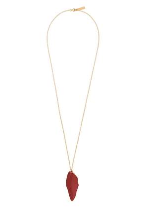 Marni long pendant necklace - Red