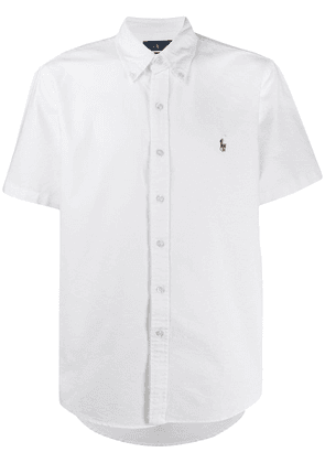 Polo Ralph Lauren logo embroidered shirt - White