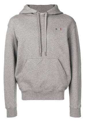 Ami Alexandre Mattiussi Crewneck Hoodie With Red Ami Blue White Red