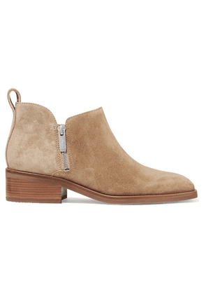 3.1 Phillip Lim - Alexa Suede Ankle Boots - Sand