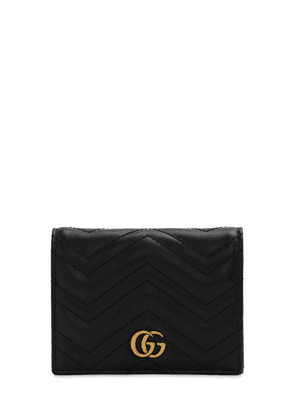 Gg Marmont 2.0 Leather Wallet
