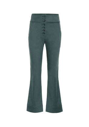 Ellis high-rise cropped jeans