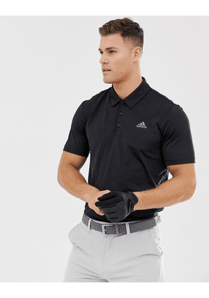 Adidas Golf Ultimate 365 polo shirt in black